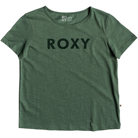 Roxy Red Sunset A t-shirt Dames groen